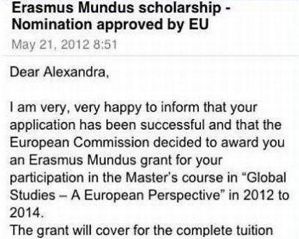erasmus mundus euroculture scholarship or grant essays